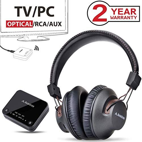 Avantree HT4189 Wireless Headphones for TV Watching