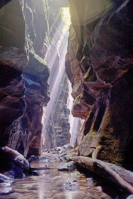Claustral Canyon, Blue Mountains, Australia