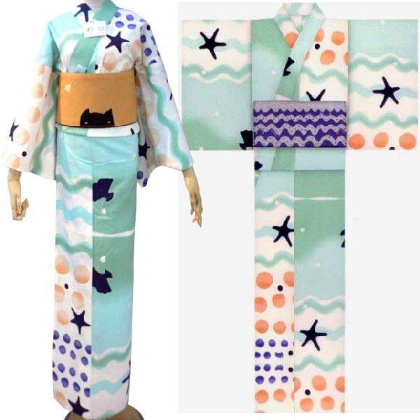 【2014年新作ブランド浴衣】tsumori chisato(ツモリチサト)なみ水玉の浴衣