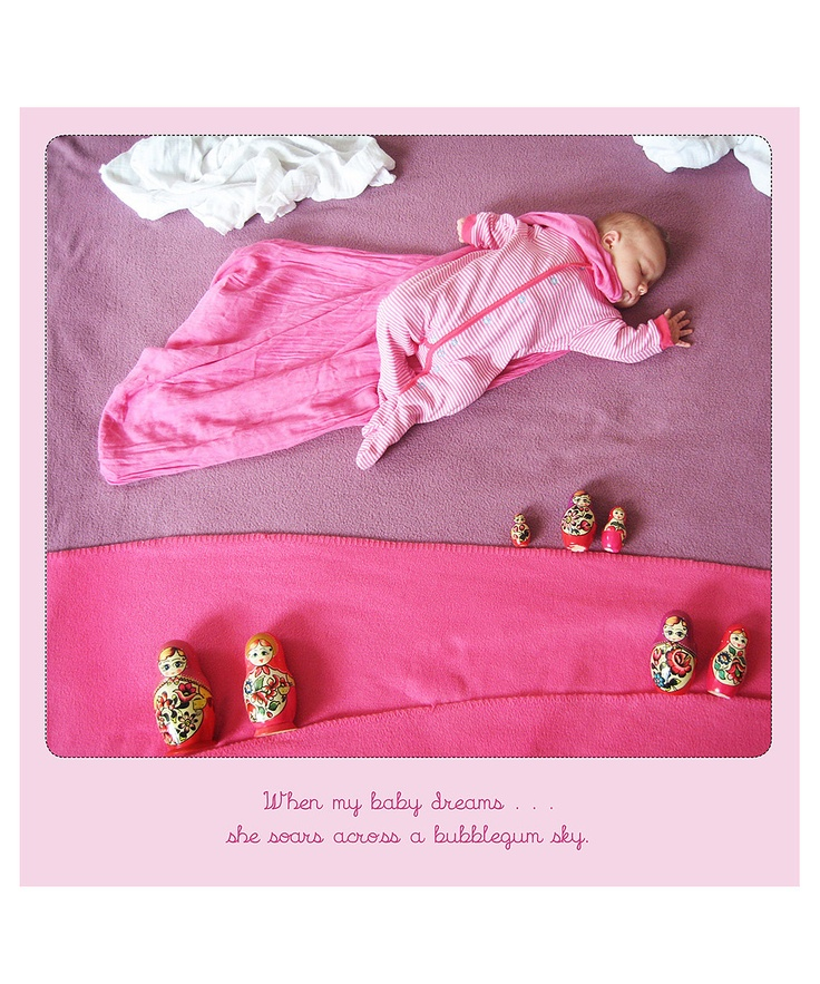 When My Baby Dreams 2013 Wall Calendar |I have GOT to do this with Levi! So funny!!!