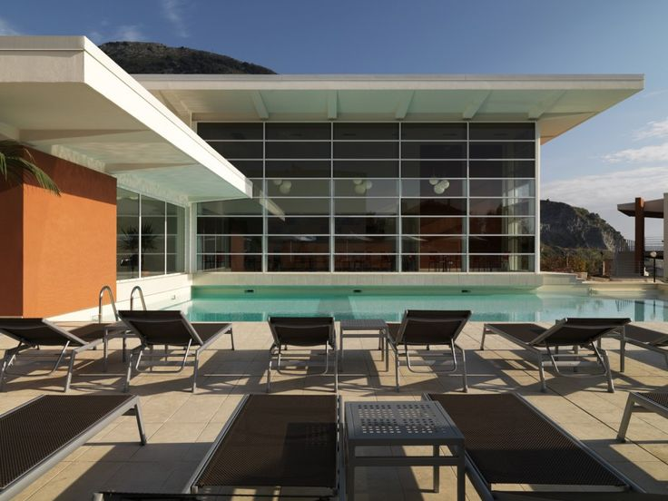 resort i gelsi, praia a mare cosenza (architettura: giuseppe terragni)