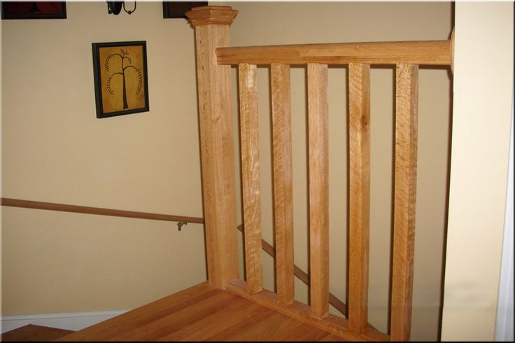 Best White Oak Banister Upper Floor Landing Of Light Oak 400 x 300