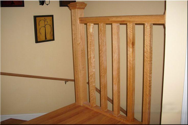 Best White Oak Banister Upper Floor Landing Of Light Oak 640 x 480