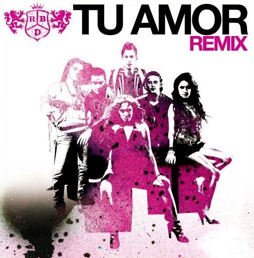 RBD: Tu Amor (Chico latino mix radio edition) - (CD Single) 2006.
