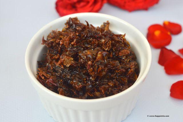 Homemade Gulkand | How to make Gulkand in home