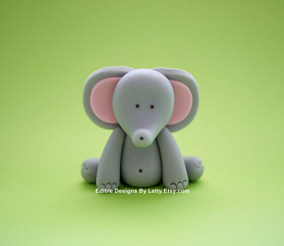 how to make a simple elephant cake topper