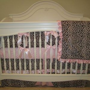 Leopard Baby Bedding Crib Sets