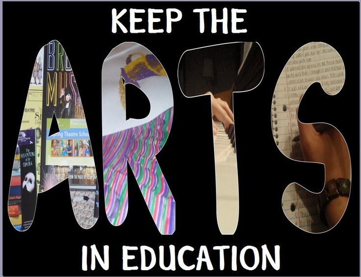 KEEP THE ARTS IN EDUCATION:)