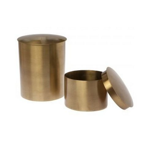 Brass Canisters - Set of Two – Shop U