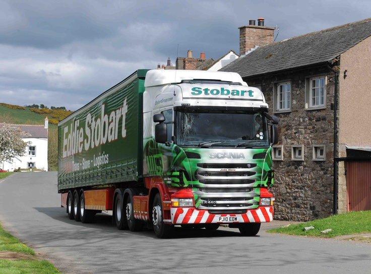 There are few finer sights on the road than an iconic Eddie Stobart truck in full flow!