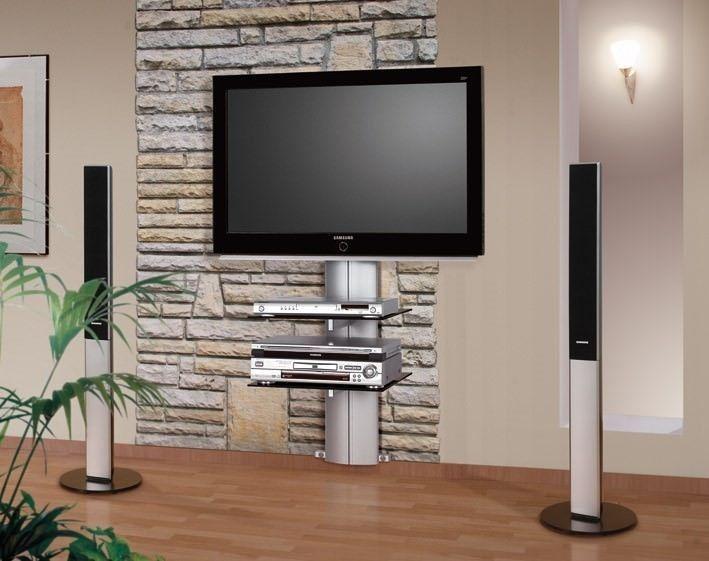 Perfecte oplossing voor een onopmerkelijke wandmeubel voor uw LCD, LED en Plasma televisie. U hangt uw TV strak aan de muur waarbij u ook de lelijke losse kabels wegwerkt en ruimte heeft voor uw audio en video apparatuur.  De glazen planken van de Orion kunt u in hoogte verstellen naar uw eigen wens. Dit model is voorzien van een TV beugel met een breeedte van 60 cm. en is geschikt voor TV's tussen de 21 en 60 inch.