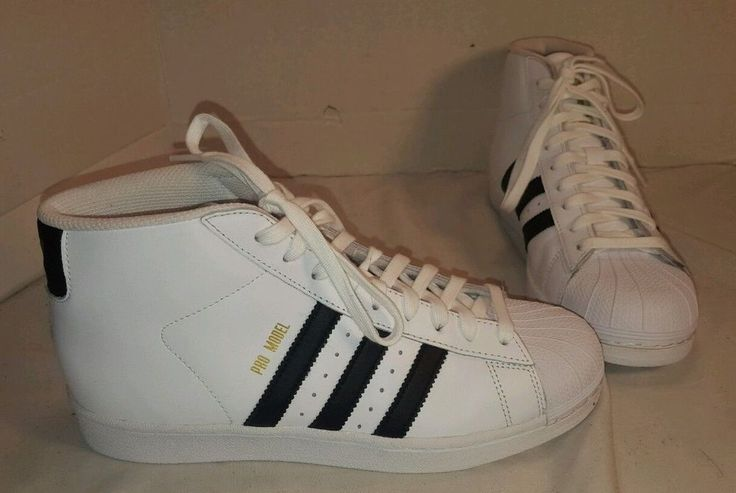 NEW ADIDAS PRO MODEL HIGH TOP BASKETBALL SHOES SNEAKERS SIZE US 7.5 EUR 40.66 #ADIDASORIGINALS #BasketballShoes