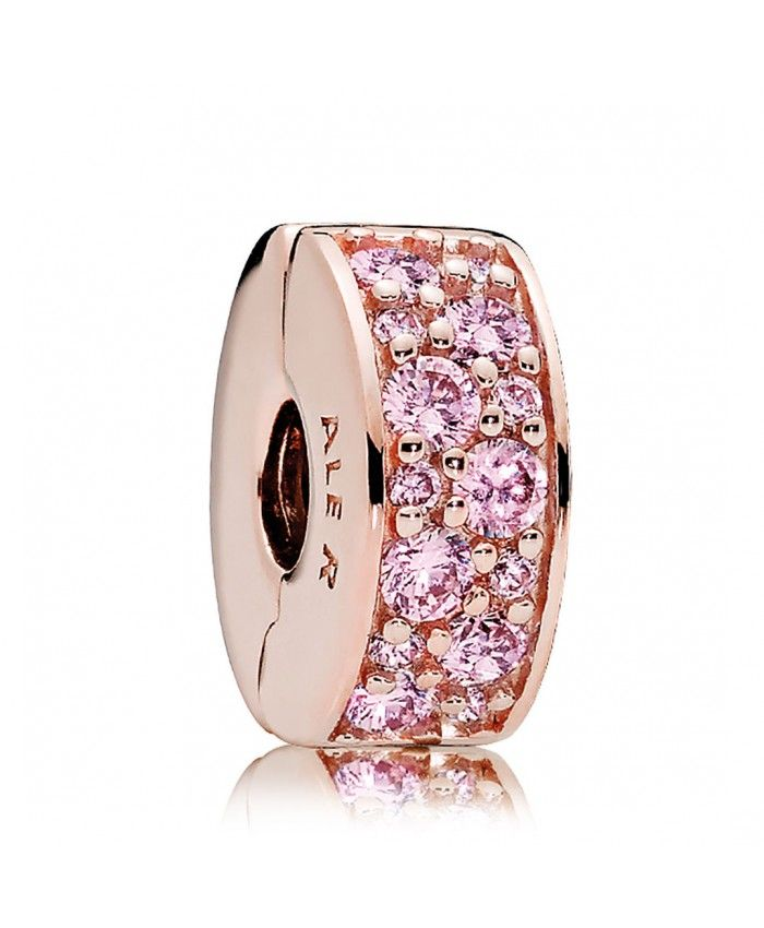 3f0cff448 Pandora Clearance Sale Rose and Pink CZ Shining Elegance Clip ...