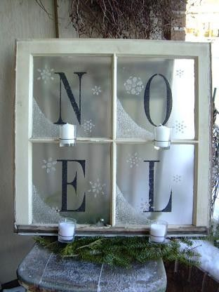 """Christmas blue letters - another pinner said - you could do something like this for the wedding and use """"LOVE"""" instead...personally I love both ideas...Christmas and wedding"""