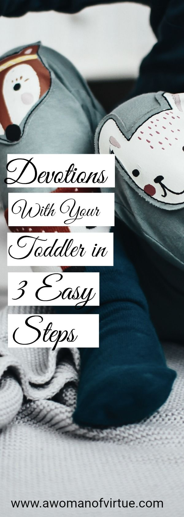When I started contemplating devotions with my two toddlers who are 2 and 3-years-old, I was downright nervous!
