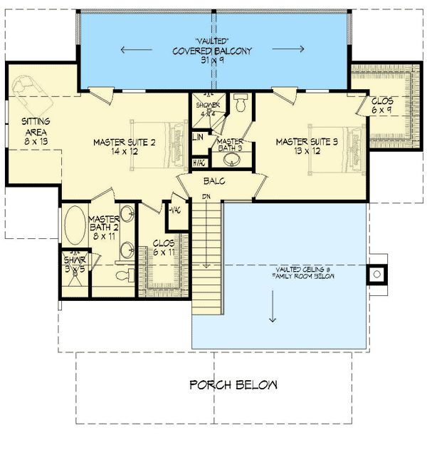 156 best house plans images on pinterest arquitetura for Rustic country home floor plans