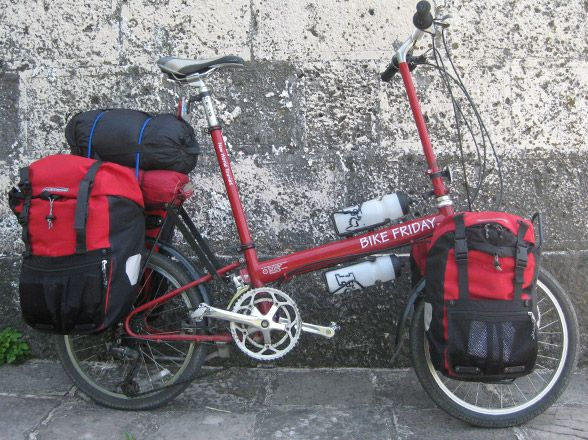 My next bike. For touring and folding up to take anywhere.