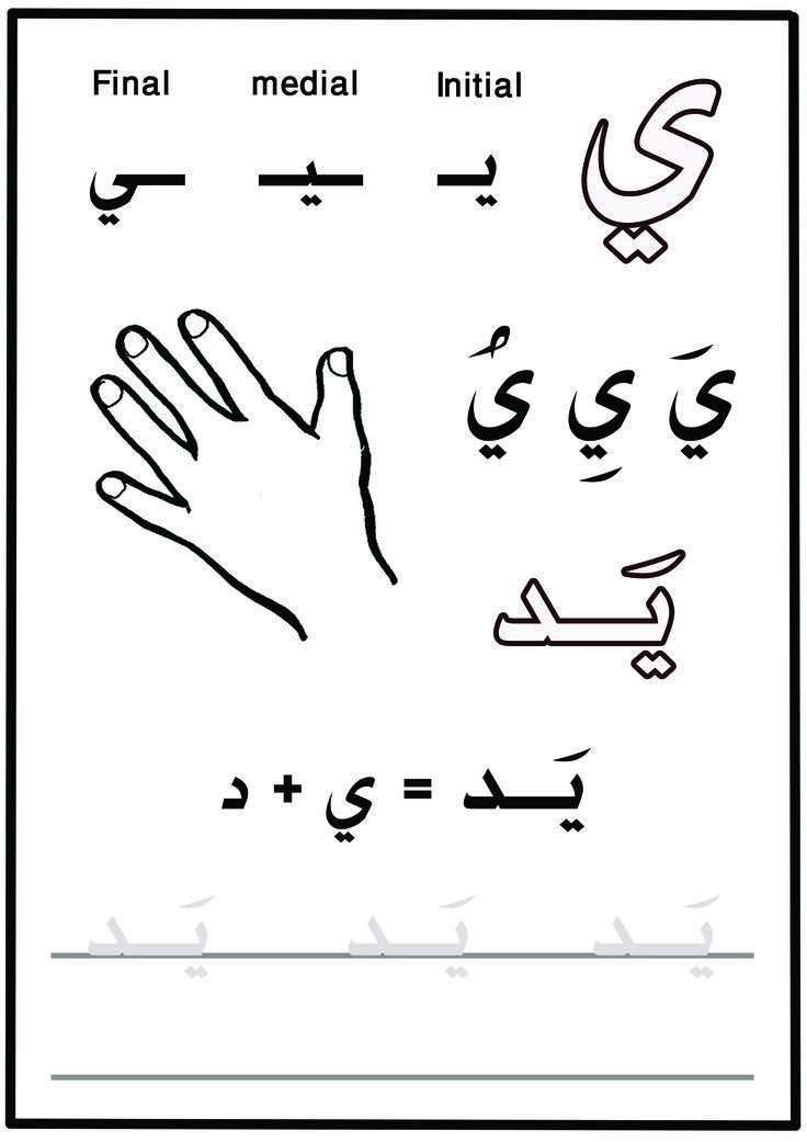 Arabic Alphabet | LEARN101.ORG