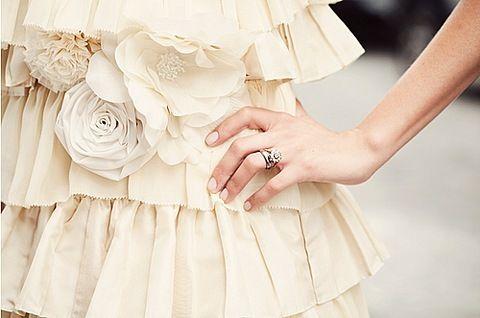 .: Rose, Fashion, Style, Wedding, Beautiful, Dresses, Photo, Pretty, Ruffles