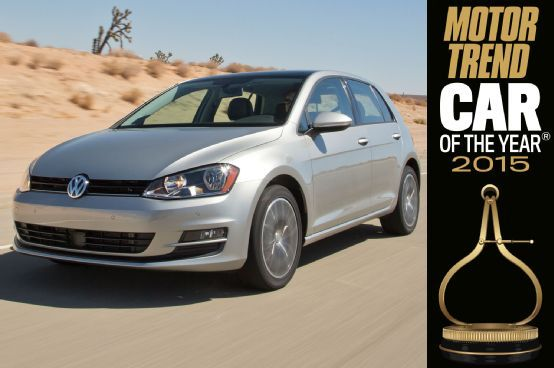 The 2015 Volkswagen Golf is the 2015 Motor Trend Car of the Year -- learn how this versatile hatchback has earned the golden calipers right here.