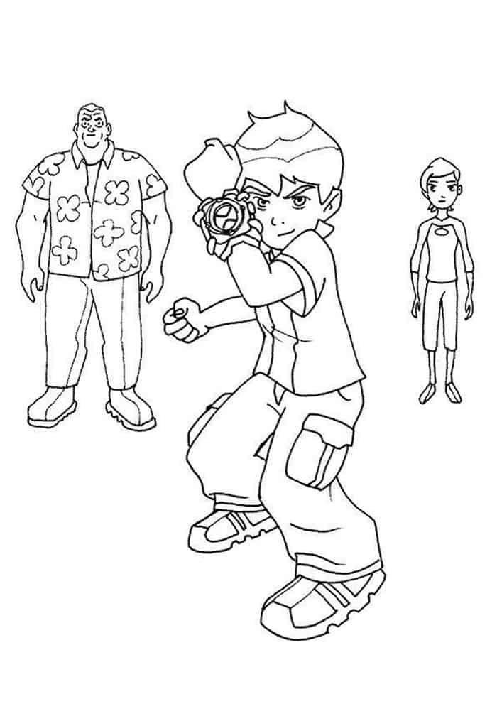 Ben 10 Omnitrix Coloring Pages Cartoon Coloring Pages Family Coloring Pages Coloring Pages