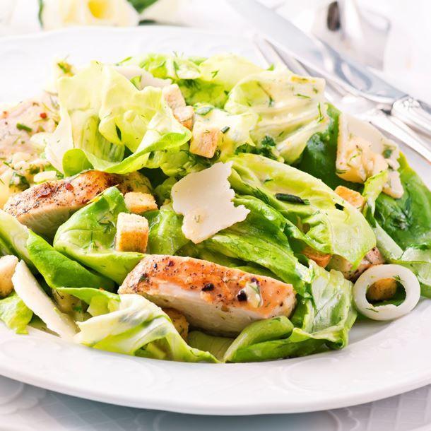 1000 id es sur le th me salade c sar de poulet sur - Recette salade cesar au poulet grille ...
