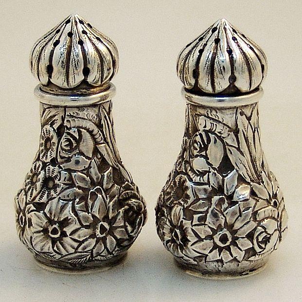 Vintage nude lady salt pepper shakers woil vingegar breasts