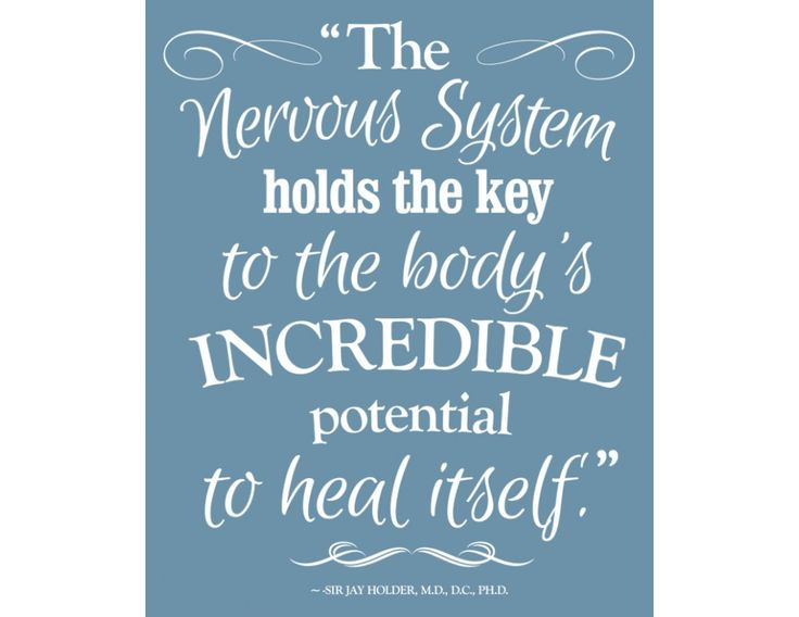 """This 22.5"""" x 28"""" chiropractic decal features a powerful quote on our self healing potential"""