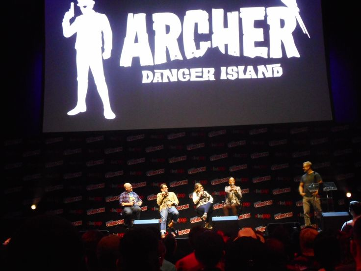 That Archer Movie Is Still A Possibility: 'Archer: Danger Island' At NYCC 2017