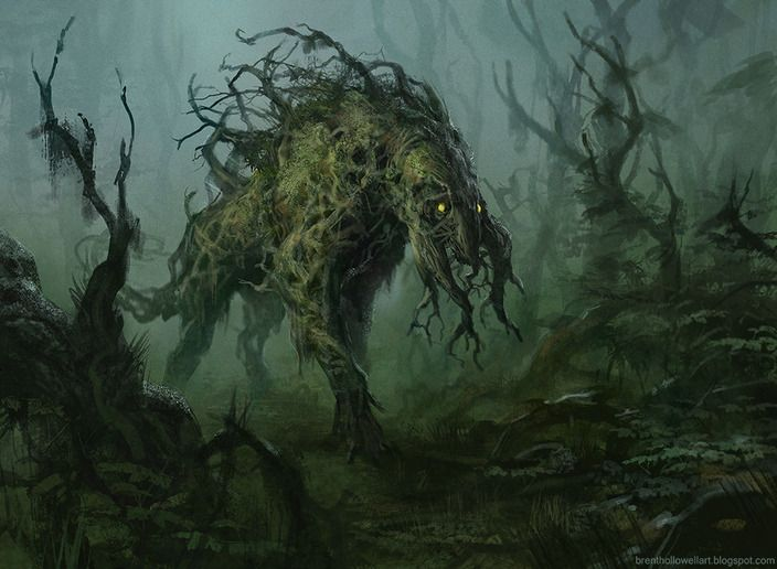 #Wildespirit forest guardian   Forest creature by brenthollowell  treefolk / ent / treant