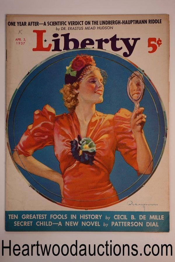 Liberty Apr 3, 1937 R. C. Kauffmann cover