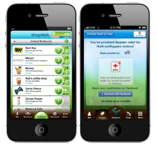 Top 10 Apps That Will Save (and Make) You Money  -- 1. ShopKick  2. Jingit  3. Ibotta  4. RetailMeNot  4. RetailMeNot   5. SwagbucksTV App  6. Old Navy SnapAppy  7. Gas Buddy  8. Endorse  9. ShopSavvy  10. Price-Matching / Jan 8 '13