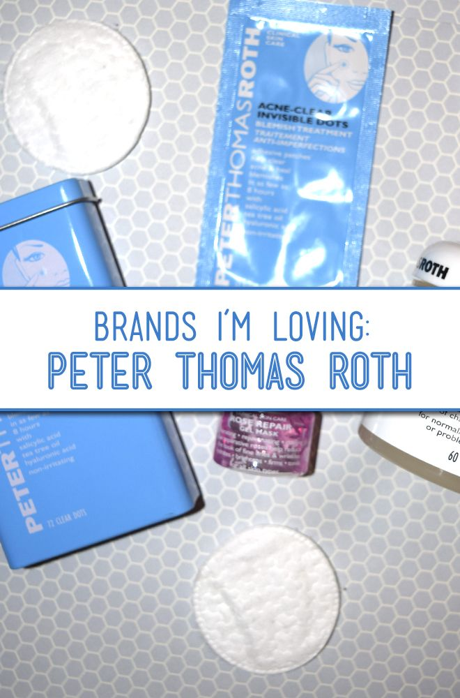 Ive been loving Peter Thomas Roth for my acne prone skin.  Here are some of my favorite products for skin care!