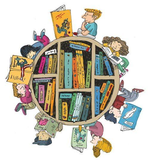 Com um livro vamos ao fim do mundo | Com letras | Leitura