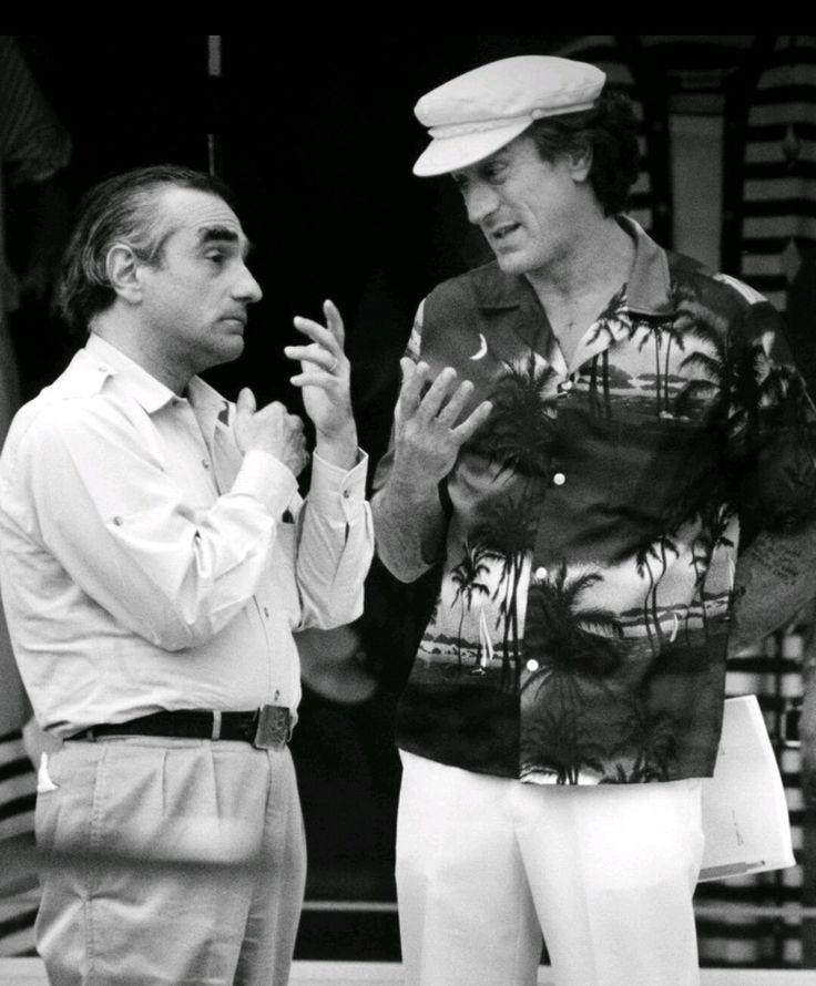 Robert de niro and Martin scorsese in Cape Fear