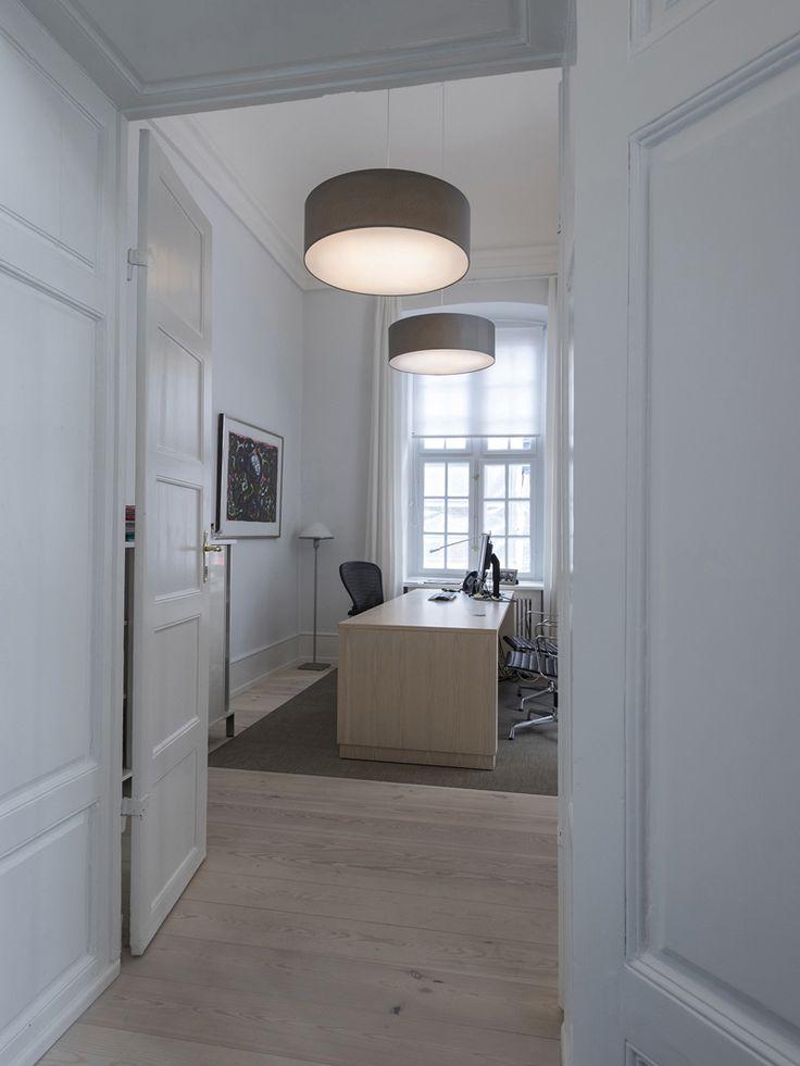 FAB acoustic pendants af office, Bredgade, Copenhagen