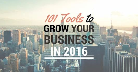 101 Tools to Grow Your Business in 2016 | SEJ