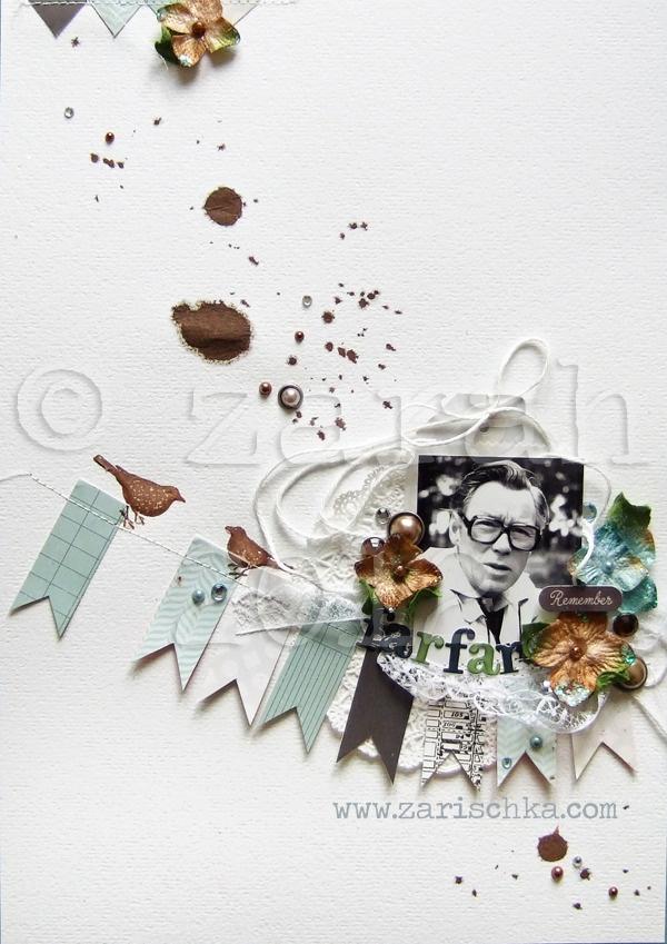 Scrapbooking -Zarah - Born Under A Paper Moon