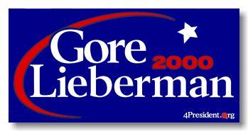 2000 Gore Lieberman