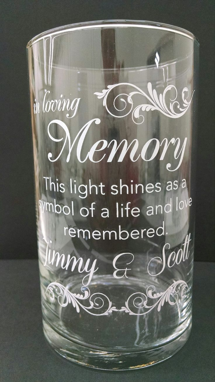Memorial Candle -  - Personalized Candle Holders - Wedding Candles - 13