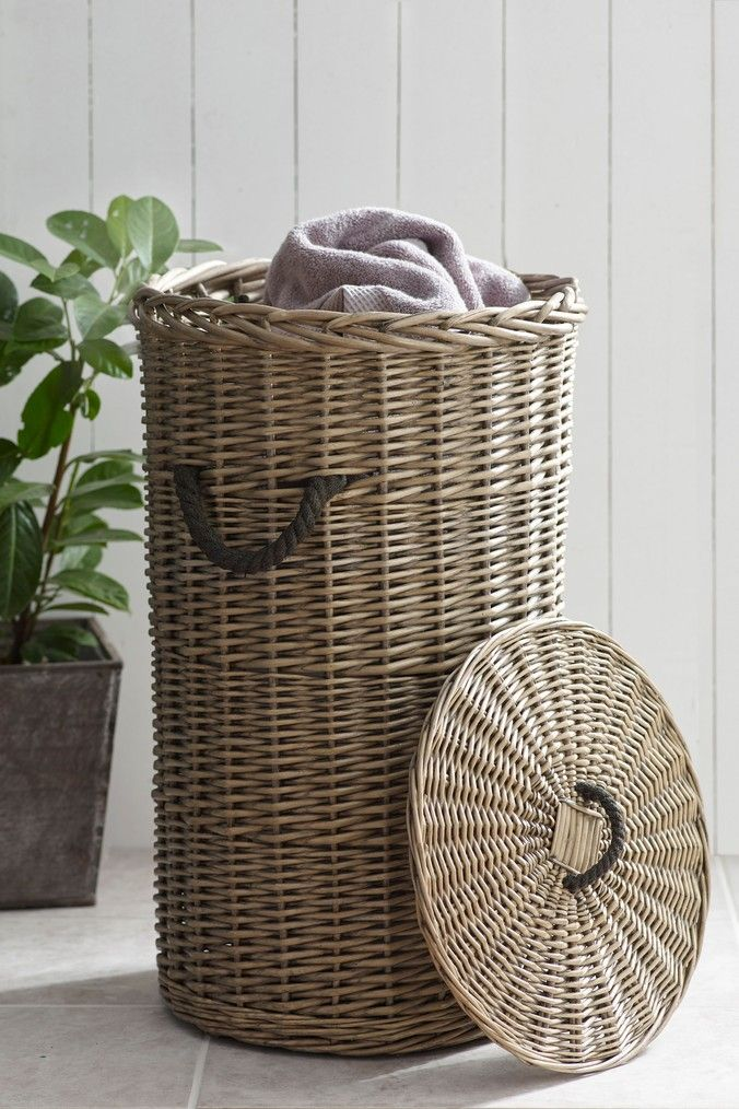 Next Woven Laundry Basket Natural Woven Laundry Basket Basket