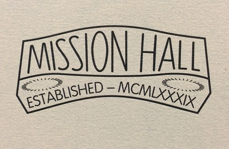 Mission Hall Custom graphics – Wellington New Zealand