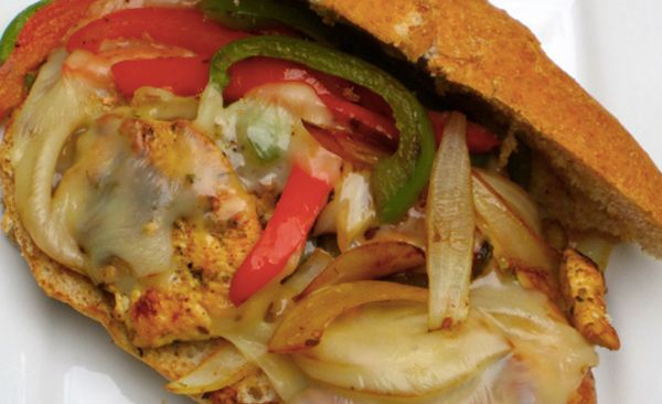 Philly Cheese and Chicken Sandwich Recipe