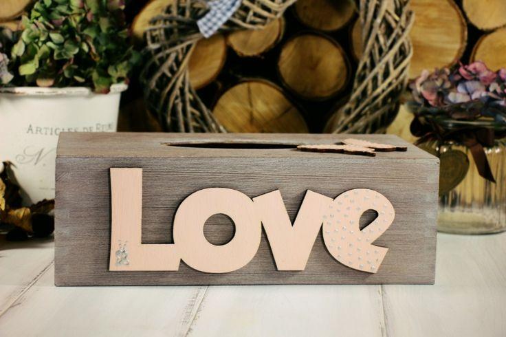 Chustecznik Love od JoannaDesign