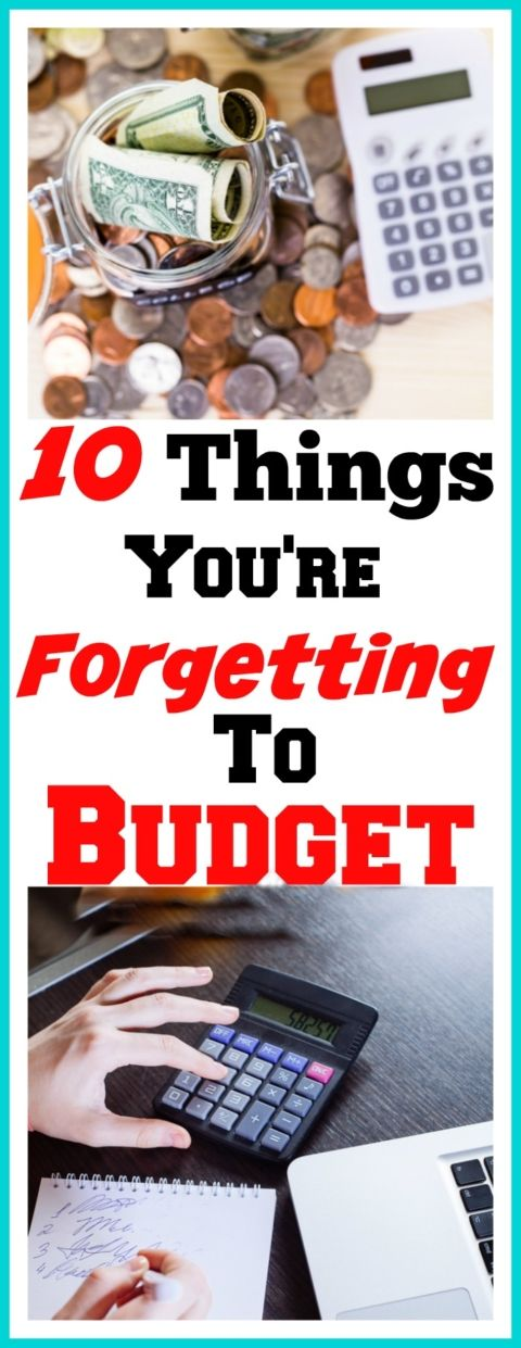 Are you forgetting to budget for these 10 things? How to make a budget, budgeting, personal finance, budget binder