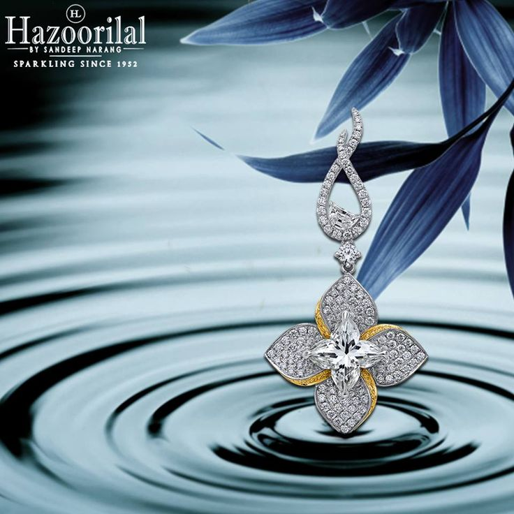 Luscious Lilies A 3.07ct Lily cut with pave set white and yellow diamond earrings leave a mesmerising scintillation on the onlookers . #HazoorilalBySandeepNarang #LilyCut #HazoorilalExclusive #FineJewellery #JewelleryLovers #Solitaires #FancyCuts #CertifiedDiamonds #Hazoorilal