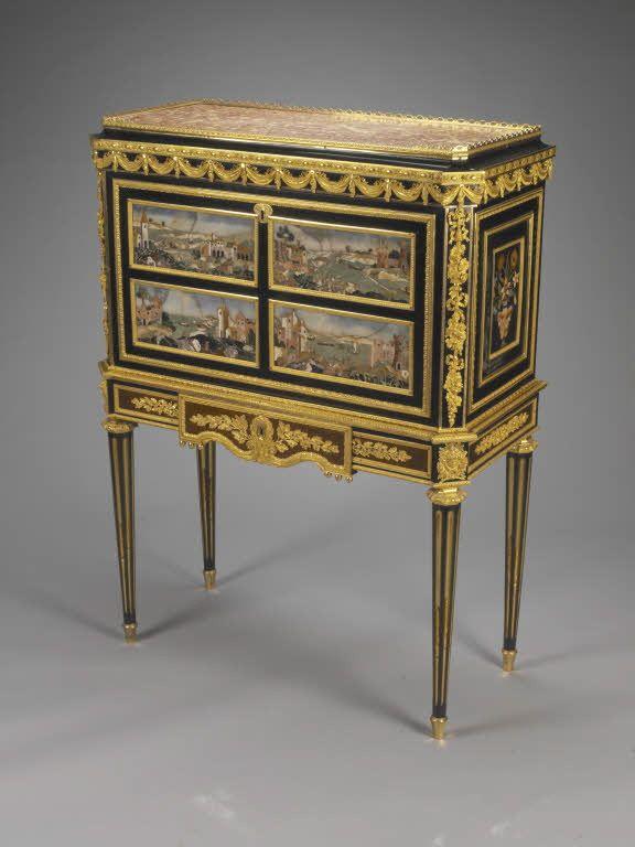 Martin CARLIN   Secrétaire à Abattant   V.1780   Louvre (LOUIS XVI  .  Classic FurnitureFrench FurnitureFine ...