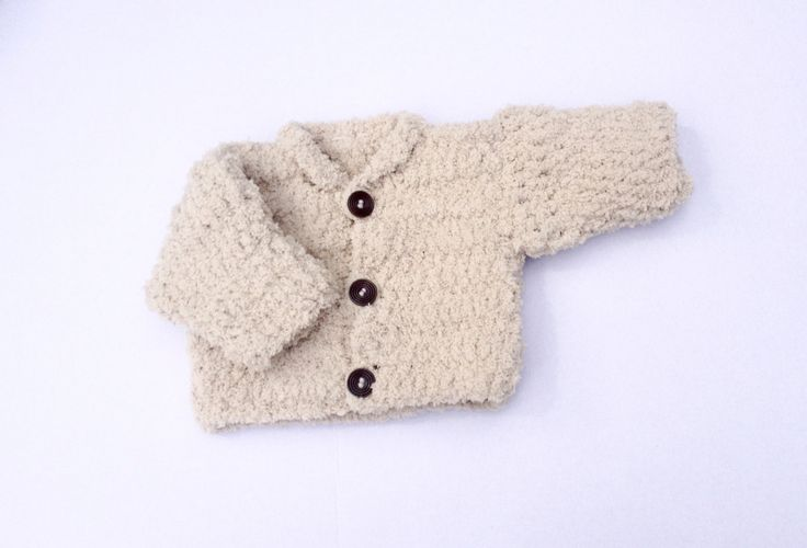 Crochet handmade super soft baby cardigan,  newborn, baby jacket, baby coat - made to order in 6 colours by MummysLittleGemUK on Etsy