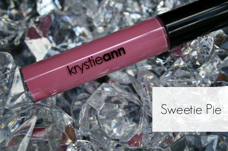 Krystie Ann Cosmetics: Lip Gloss  Shade: Sweetie Pie  Price: $15  cosmetics, lip gloss, makeup, pink gloss, pink lips, bridal lips, bridal makeup  www.krystieann.com