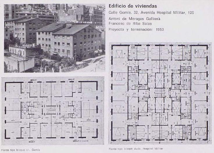 Edificio de viviendas calle gomis 32 avenida hospital - Calle escorial barcelona ...